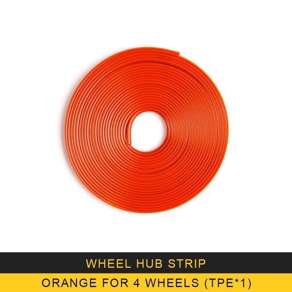 Orange für 4 Räder