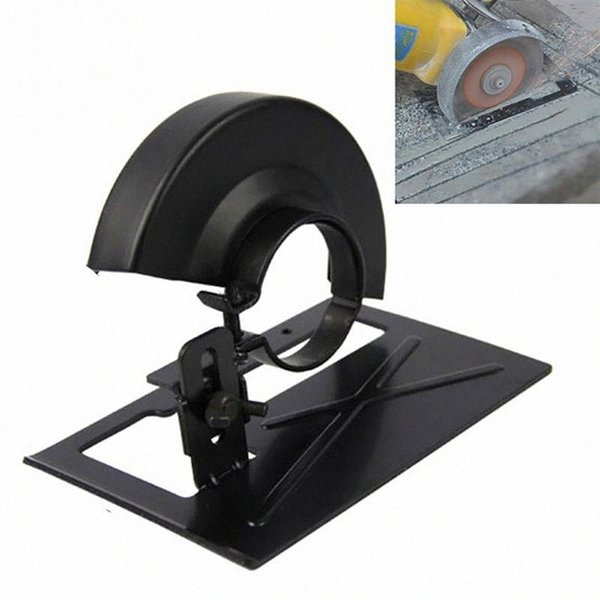 top popular Angle Grinder Stand Cutting Machine Base Protection Cover Wheel Guard Angle Grinder Protector Cover Bracket Conversion Base Sn32# 2021