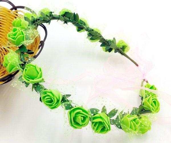 18 Flores verdes