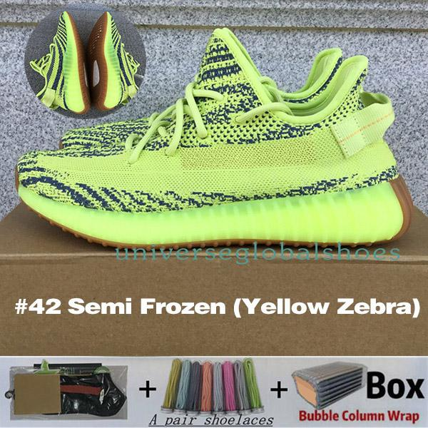 # 42 Frozen Semi (Yellow Zebra)