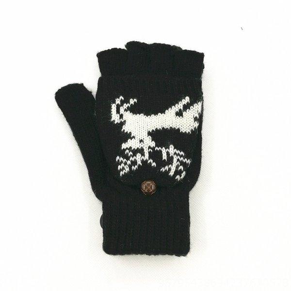 Cervos preto-One Size