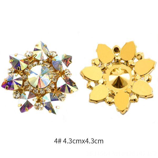 # 4 4.3cmx4.3cm-Golden Sole