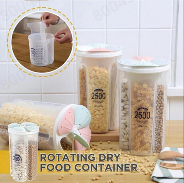 Transparent Plastic Storage Box Dry Dried Food Storage Box Container Box Kitchen Supplies Dried Storage Container Multi-grain New