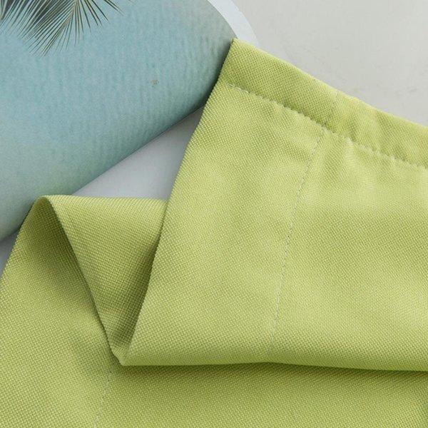 القماش الأخضر