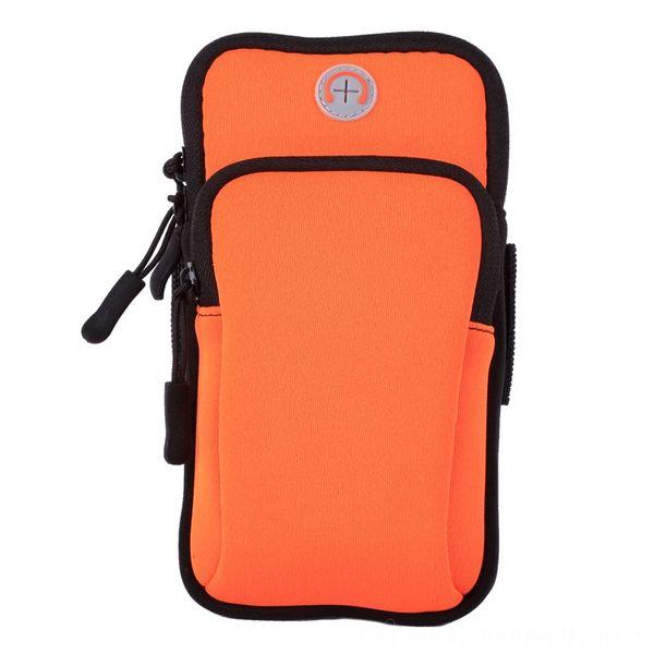 Orange-Large Größe: 5-6-Zoll-Handy