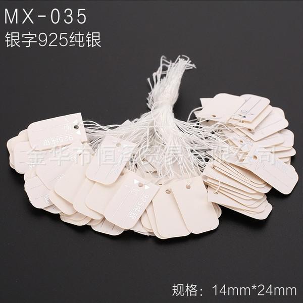 Mx-035-un paquet de 100 pièces