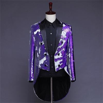 фиолетовый и белый