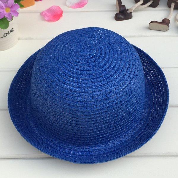 Cabeza C210 pequeñas y redondas Sombrero Zafiro blanco