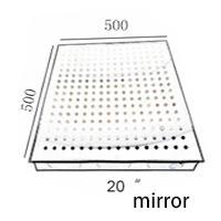 20quot; acabado de espejo 500 * 500