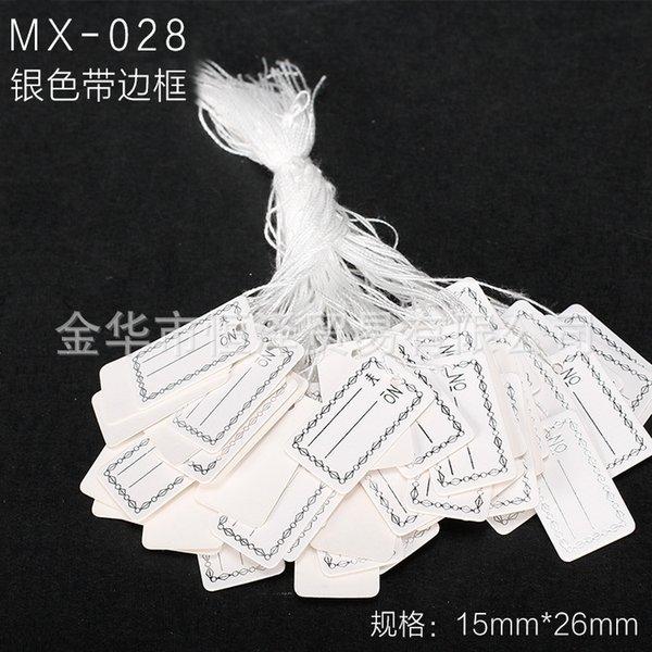 Mx-028-un paquet de 100 pièces