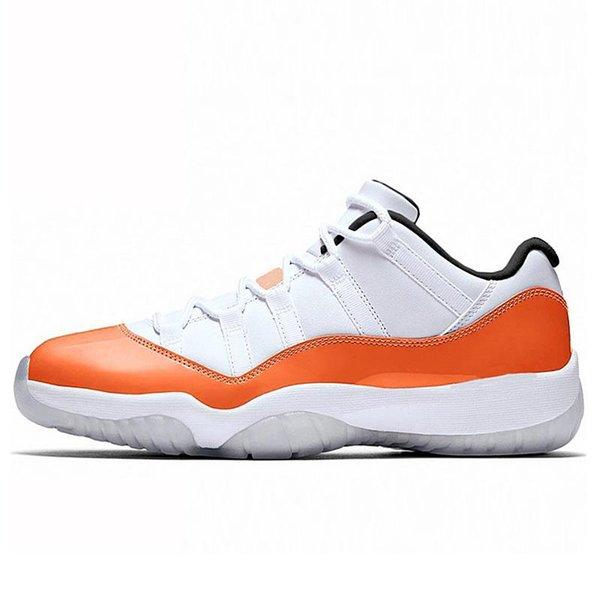11s Оранжевый транс низкий 7-13
