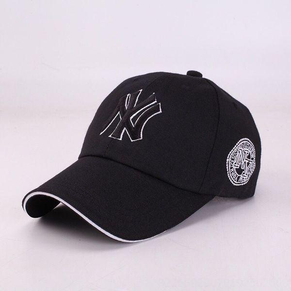 Black Hat Black White Side п Embroidery-