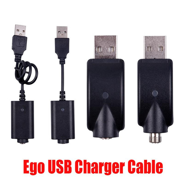 top popular Hot Ego USB Charger CE4 Electronic Cigarette E Cig Wireless Chargers Cable For 510 Ego T Ego EVOD Twist Vision Spinner 2 3 Mini Battery 2021