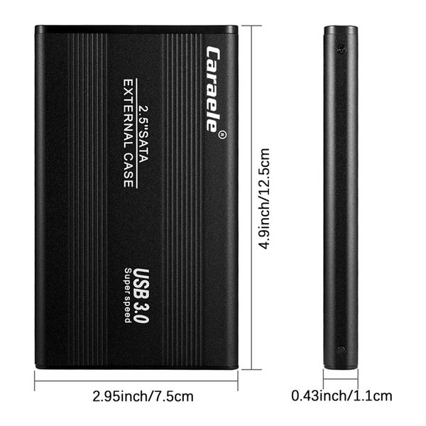top popular 2TB HDD 1TB 500GB External Hard Drives Disk USB3.0 320G 250G 160G 120G 80G Storage for PC, Mac,TV 2021