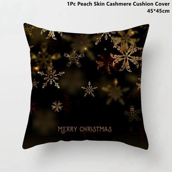 Funda de almohada de Navidad 2
