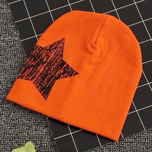 Cinq étoiles orange
