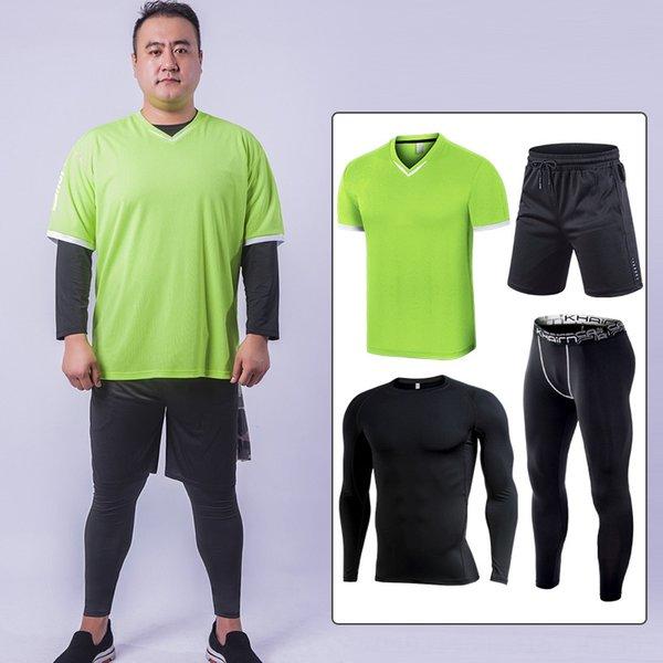 Plus Fat Vierteiliges Set Short Sleeve 20m