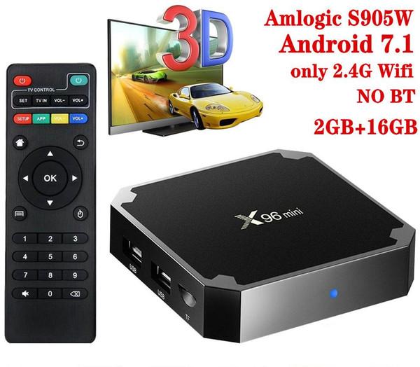 X96 Mini, 2 + 16GB, 2.4G Wifi, HAYIR BT