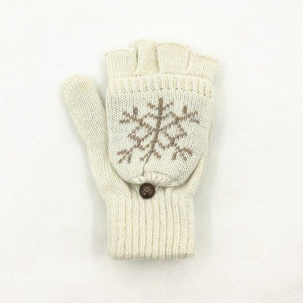 Floco de neve Branco-One Size