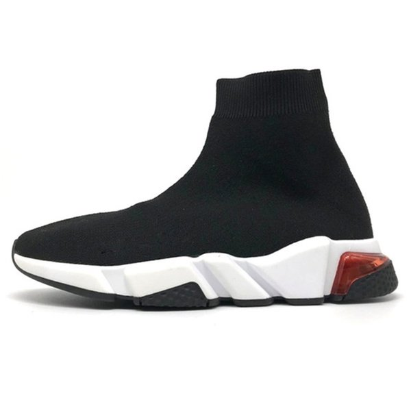 clear sole black red