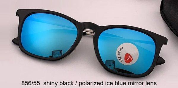 lente azul hielo / azul polarizado brillante