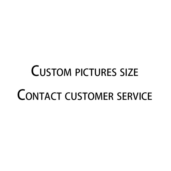 Custom pictures size 150*180cm