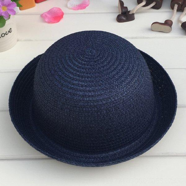 Cabeza C210 pequeñas y redondas sombrero blanco Armada Blu