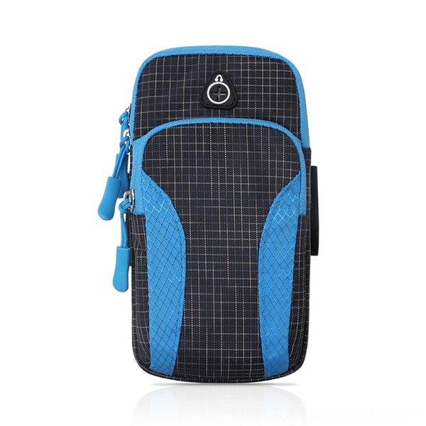 Cailige Arm Bag-blau-Large Größe: 5-6 Inc