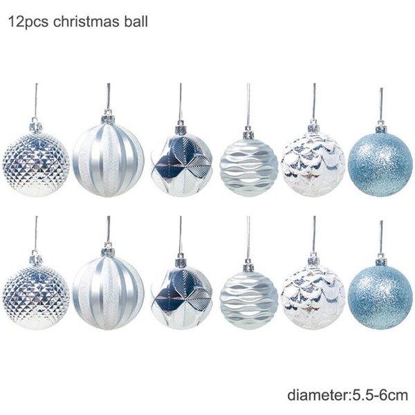 6cm Blue Balls