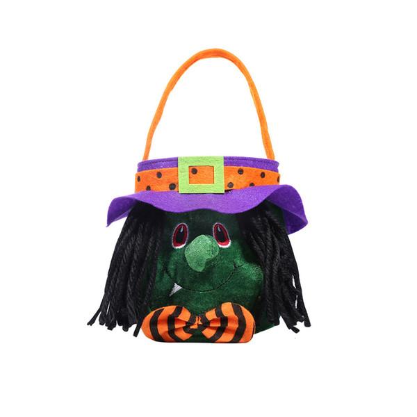 Runde Handtasche mit Hut Witch Stil