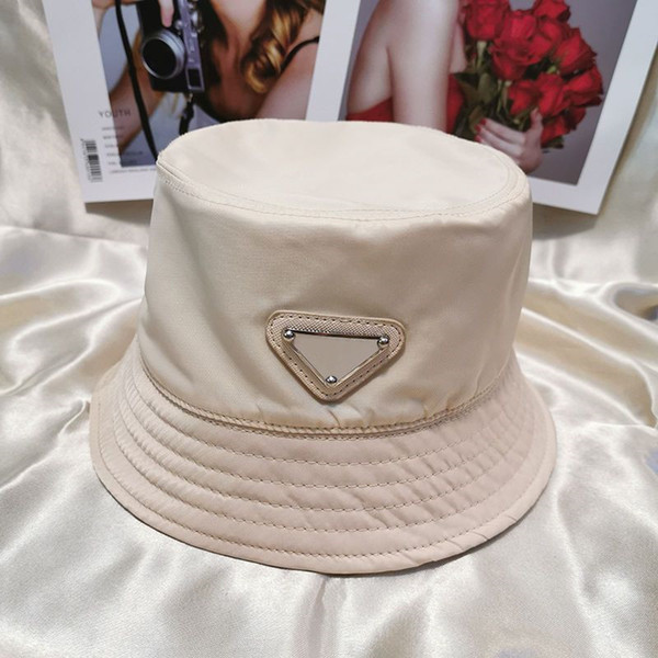 top popular Fashion Bucket Hat Cap Men Woman Hats Baseball Cap Beanie Casquettes 6 Color Highly Quality 2021