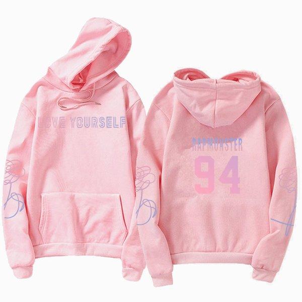 Sweats à capuche rose 94