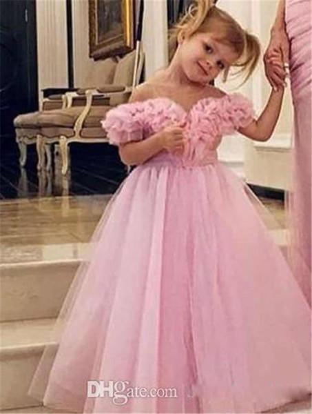 Blume Gilr Kleid