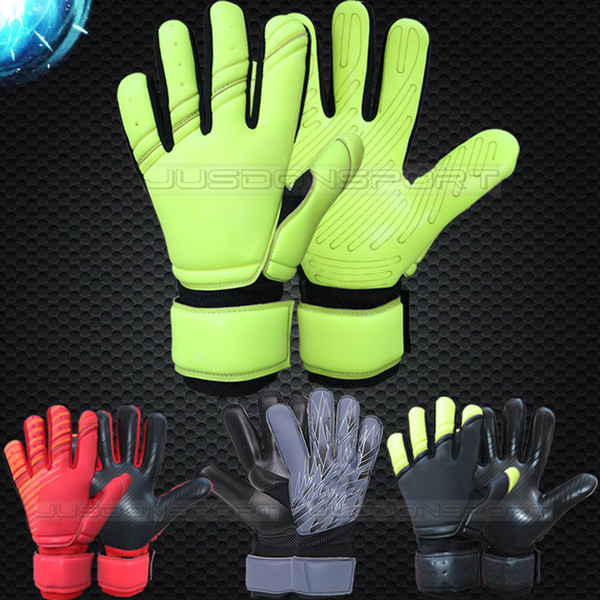 best selling Jusdon Allround Latex without fingersave Soccer Professional Goalkeeper Gloves Goalie FootballBola De Futebol Gloves Luva De Goleiro