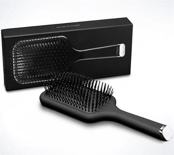 best selling 9hd Glide Paddle Brush Hair Air Cushion Comb Brand Comb Brush Hair Straightener Iron With Retail Box