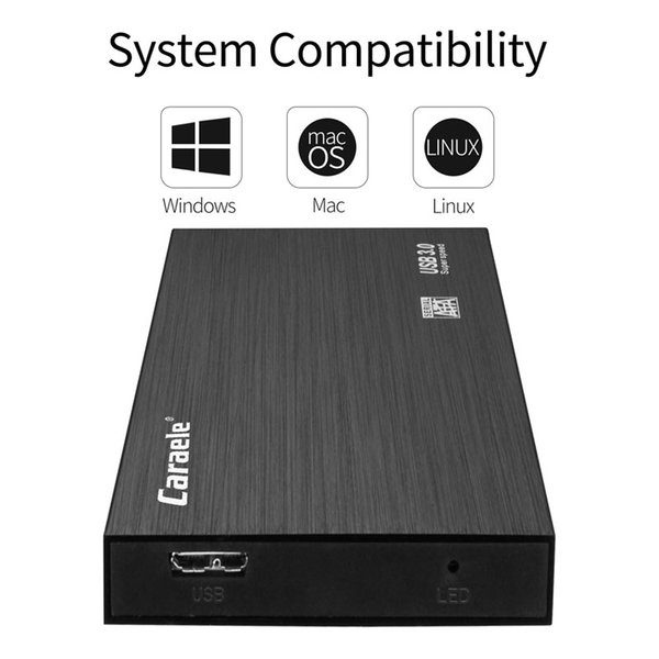 "top popular External Hard Drives USB3.0 2.5Original 2.5"" Portable HDD Drive Disk USB 3.0 High Speed for PC Mac laptops Desktops 2021"