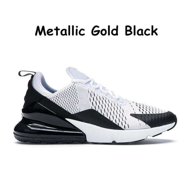 23 Metallic Gold Black