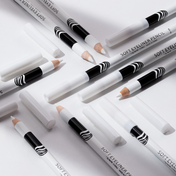 best selling Professional Cosmetic Supplier Hot Sale Silky Wood And White Eyeliner 12 pieces box Highlight Pencil New Design
