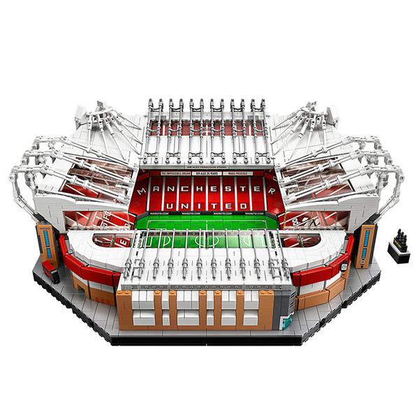 best selling 10202 3908PCS Creator City Street Football Stadium Building Blocks Bricks Toys Kids Gift Compatible 10272