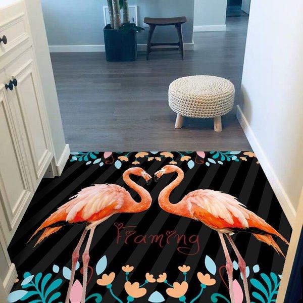 Negro Rayado Flamingo-0,5 × 0,8 m (no