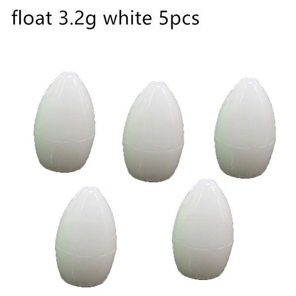 float 3.2g white x5