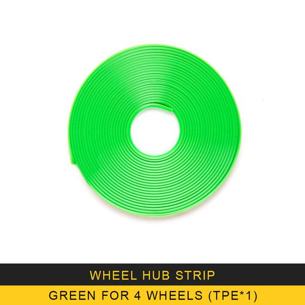 Grün für 4 Räder