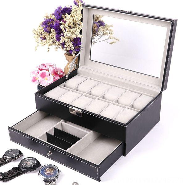 Bijoux double-couche boîte (noir) -Standar