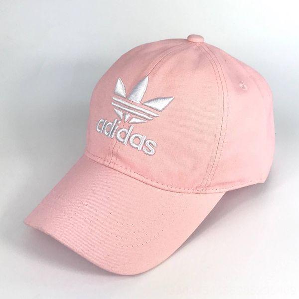 Розовый Hat Белый Adi-регулируемый