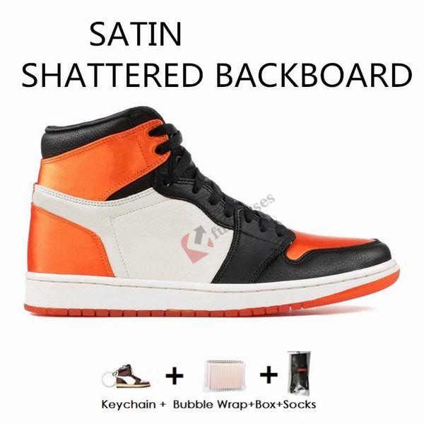 Satins Shattered backboard