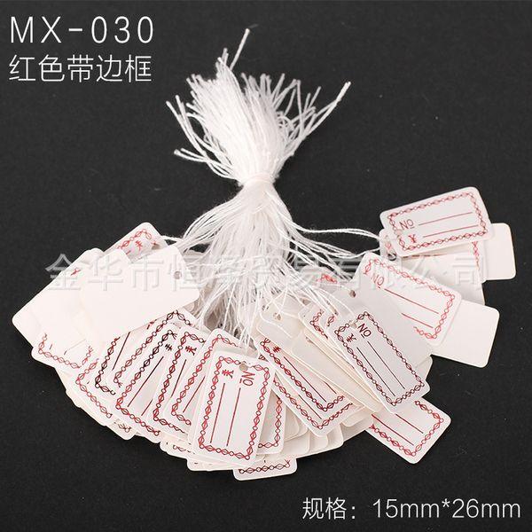 Mx-030-un paquet de 100 pièces
