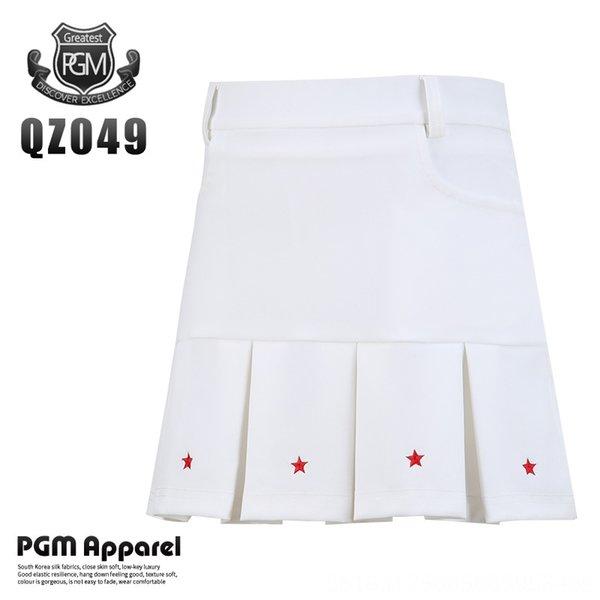 Qz049 Girls' Pleated Skirt-white