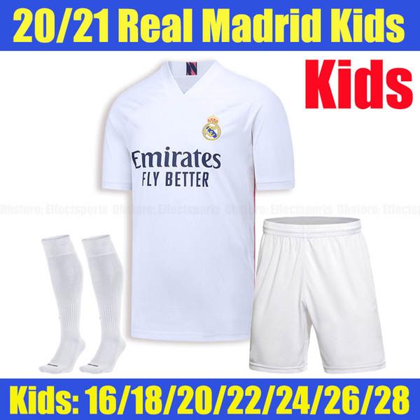 2020 Real Madrid Home Kids Meias