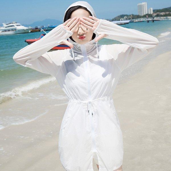 Blanco (ropa de protección solar para medianas y