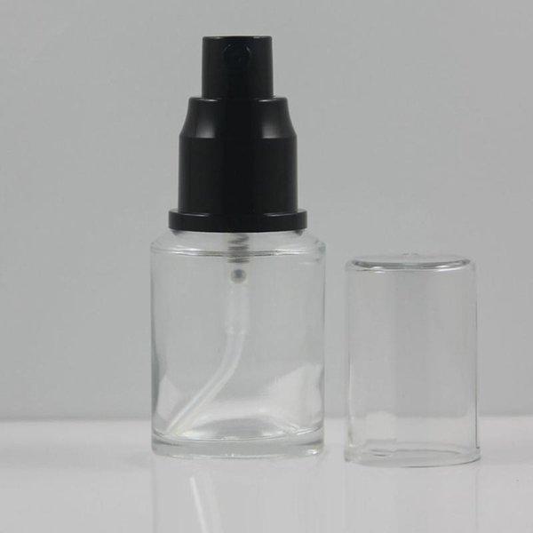 30ml pompe de pulvérisation en verre clair